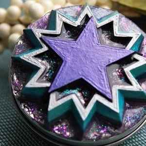 Handmade Storage & Organization - Starburst Jewelry Tin trinket box, rings, earrings
